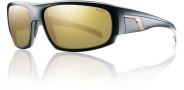 Smith Terrace Sunglasses Sunglasses - Matte Black / Polarized Gold Mirror