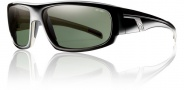 Smith Terrace Sunglasses Sunglasses - Black / Polarized Gray Green