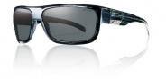 Smith Collective Sunglasses Sunglasses - Black Stripe / Polarized Gray