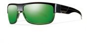 Smith Collective Sunglasses Sunglasses - Black Green / Green Mirror