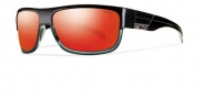 Smith Collective Sunglasses Sunglasses - Black Gray / Red Mirror