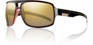 Smith Swindler Sunglasses Sunglasses - Black Red / Polarized Gold Gradient Mirror