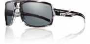 Smith Swindler Sunglasses Sunglasses - Black Stripe / Polarized Gray