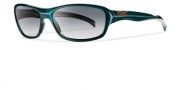 Smith Heyday Sunglasses Sunglasses - Emerald / Polarized Gray Gradient