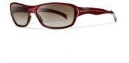 Smith Heyday Sunglasses Sunglasses - Cranberry / Polarized Brown Graident
