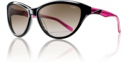 Smith Cypress Sunglasses Sunglasses - Black Pink / Brown Gradient