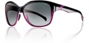 Smith Jetset Sunglasses Sunglasses - Black Violet Split / Polarized Gray Gradient