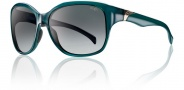 Smith Jetset Sunglasses Sunglasses - Emerald / Polarized Gray Gradient