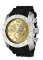 Swiss Legend Commander Chrono Watch 20067 Watches - 10 Gold Colored Face / Black Band