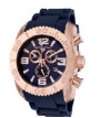Swiss Legend Commander Chrono Watch 20067 Watches - RG-03 Rose Gold Dial / Blue Band
