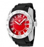 Swiss Legend Commander 3H Watch 20068 Watches - 05 Red Face / Black Band