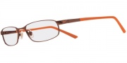Nike 6043 Eyeglasses Eyeglasses - 205 Shiny Dark Brown