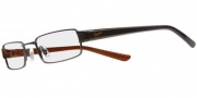 Nike 8061 Eyeglasses Eyeglasses - 051 Shiny Dark Gunmetal / Translucent Orange