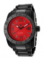 Swiss Legend BB Comander 3H Bracelet Watch 10059 Watches - BB-55 Red Face / Black Band