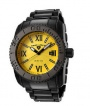 Swiss Legend BB Comander 3H Bracelet Watch 10059 Watches - BB-77Y Yellow Face / Black Band