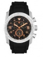 Swiss Legend Commander Rubber Watch 20065 Watches - 11-RN Black Face / Rose Dial / Black Band