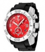 Swiss Legend Commander Rubber Buckle Watch 20065 Watches - 05B Red Face / Black Band
