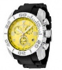 Swiss Legend Commander Rubber Buckle Watch 20065 Watches - 07B Yellow Face / Black Band