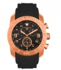 Swiss Legend Commander Rubber IP Watch 20065 Watches - A Black Face / Black Band
