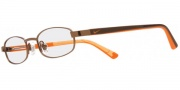 Nike 5555 Eyeglasses Eyeglasses - 248 Gun Brown