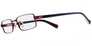 Nike 5558 Eyeglasses Eyeglasses - 631 Hot Red