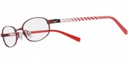 Nike 5560 Eyeglasses  Eyeglasses - 610 Pro Red / White