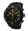 Swiss Legend Neptune Diver Black IP Watch 11812P Watches - 11812-BB-01-YA Yellow Dial