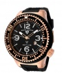Swiss Legend Neptune Pilot Rose IP Watch 21818 Watches - 21818P-RG-01 Rose Gold / Black Band