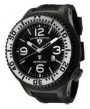 Swiss Legend Neptune Pilot Black IP Watch 21818 Watches - 21818P-BB-01-SA White Dial / Black Band / White Crown