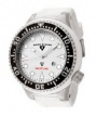 Swiss Legend Neptune Diver Steel 21818 Watches - 21818D-02 White Face / White Band