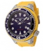 Swiss Legend Neptune Diver Steel 21818 Watches - 21818D-03 Blue Face / Yellow band