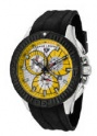 Swiss Legend Evolution IP Bezels Watch 10064 Watches - 10064-07-BB Yellow Dial / Black Crown