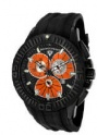 Swiss Legend Evolution IP Watch 10064 Watches - 10064-BB-06 Black Face / Orange Dial