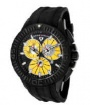 Swiss Legend Evolution IP Watch 10064 Watches - 10064-BB-07 Black Face / Yellow Dial
