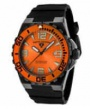 Swiss Legend Expedition Watch 10008-BB Watches - BB-06-OB Orange Face / Orange Bezel / Black Band