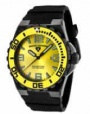 Swiss Legend Expedition Watch 10008-BB Watches - BB-07-YB Yellow Face / Yellow Bezel / Black Band