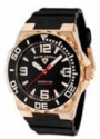 Swiss Legend Expedition Watch 10008-BB Watches - RG-01-BB Black Face / Rose Gold Crown / Black Band