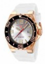 Swiss Legend Expedition Watch 10008-BB Watches - RG-02S-BB White Face / Rose  Gold Crown / White Band