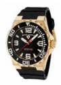 Swiss Legend Expedition Watch 10008-BB Watches - TG-01-BB Black Face / Yellow Gold Crown / Black Band