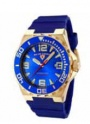 Swiss Legend Expedition Watch 10008-BB Watches - YG-03-BLB Blue Face / Yellow Gold Crown / Blue Band