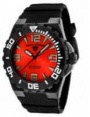 Swiss Legend Expedition Watch 10008-BB Watches - BB-05 Red Face / Black Bezel / Black Band