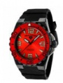 Swiss Legend Expedition Watch 10008-BB Watches - BB-05-RB Red Face / Red Bezel / Black Band