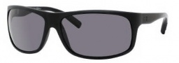 Tommy Hilfiger 1079/S Sunglasses Sunglasses - 0KHX Matte Black / 3H Smoke Polarized Lens