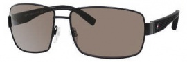 Tommy Hilfiger 1082/S Sunglasses Sunglasses - 0WI7 Matte Black / SP Bronze Polarized Lens