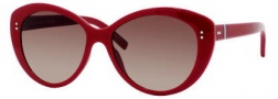 Tommy Hilfiger 1084/S Sunglasses Sunglasses - 0WFT REd / D8 Brown Gradient Lens