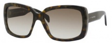 Tommy Hilfiger 1087/S Sunglasses Sunglasses - 0WGO Green Havana / DB Brown Gray Gradient Lens