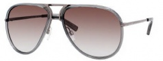 Tommy Hilfiger 1091/S Sunglasses Sunglasses - 0YZU Dark Ruthenium / 02 Brown Gradient Lens