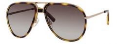 Tommy Hilfiger 1091/S Sunglasses Sunglasses - 0YZS Rose Gold / HA Brown Gradient Lens
