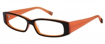 Modo 5015 Eyeglasses Eyeglasses - Black Orange