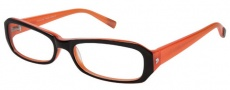 Modo 5018 Eyeglasses  Eyeglasses - Black Orange
